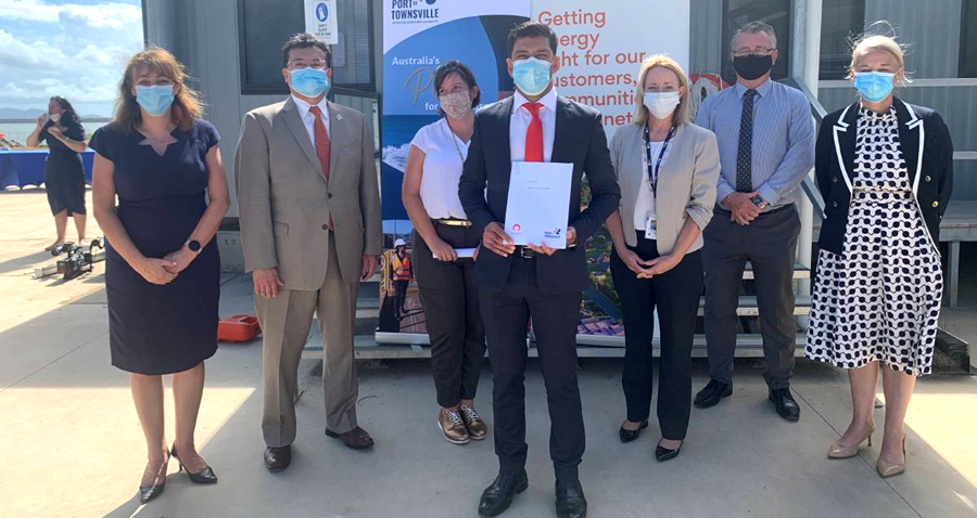 Green Hydrogen Project Signs MOU with Port of Townsville