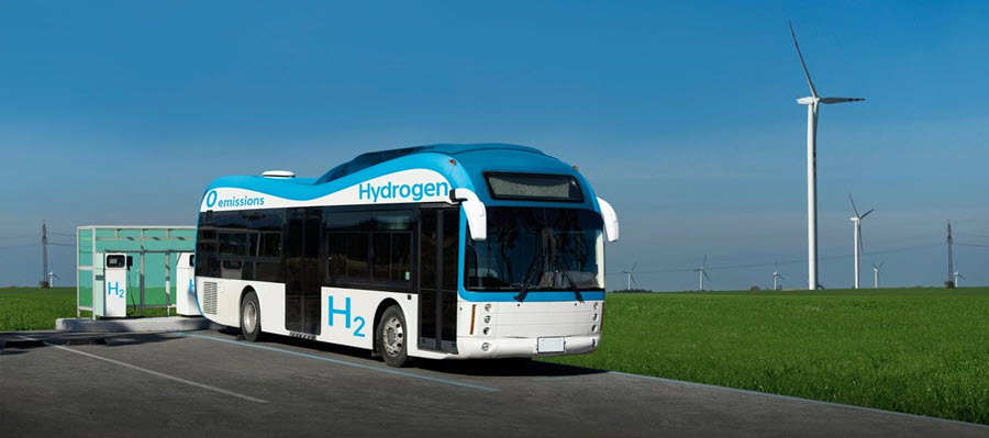 Hydrogen Bus and Green Station for Buses