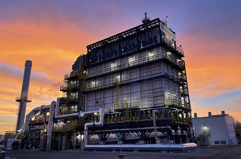 Fuel cells works, hydrogen, Plant, air liquide, fuel cells