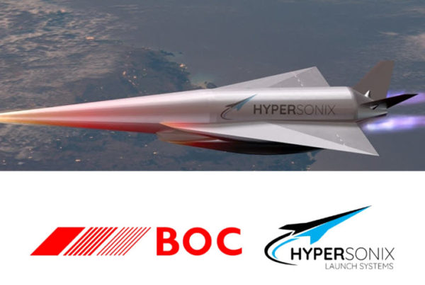 Hydrogen Powered Hypersonic Vehicle to Use Green Hydrogen by BOC