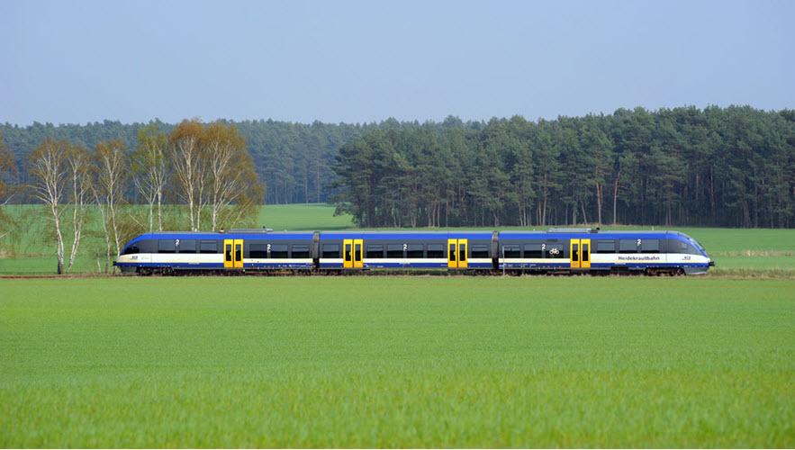 Hydrogen in Brandenburg Train Traffic