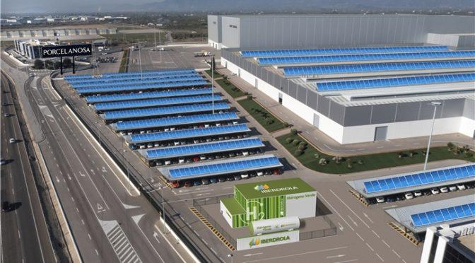 Fuel cells works, hydrogen, iberdola, Porcelanosa, fuel cells, green