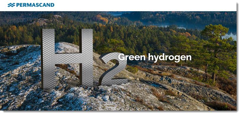 In Sweden Permascand is Investing Around SEK 300 Million 34 Million in Green Hydrogen