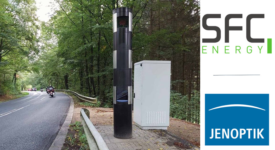 Jenoptik and SFC Energy to Increase Traffic Safety With Environmentally Friendly Fuel Cells