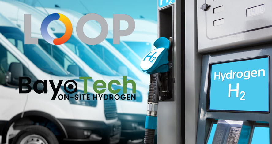Fuel cells works, Bayotech and Loop Energy Announce a Joint Market Development Agreement to Deploy Hydrogen Fueling Infrastructure and Hydrogen Vehicles