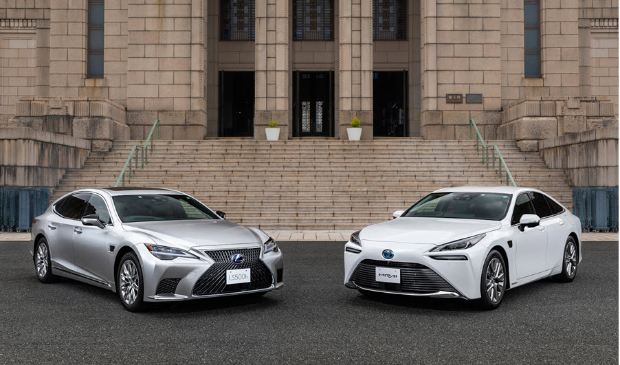Lexus Mirai with Advanced Tech