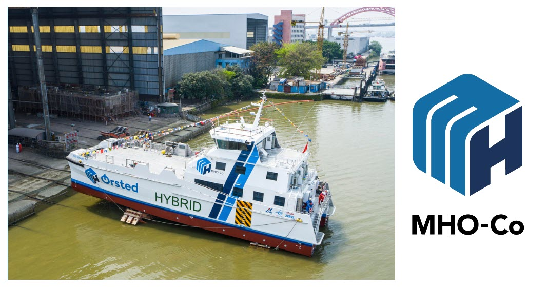 Fuel cells works, hydrogen, MHO and Partners to Develop Carbon-Neutral Marine Fuel Cell Transport
