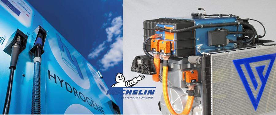 Fuel cells works, hydrogen, Michelin, fuel cells