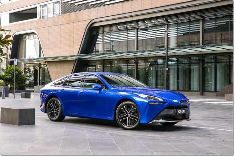 Fuel cells works, hydrogen, Toyota, mirai, australia, fuel cells