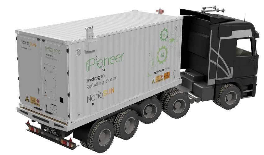 NanoSun Mobile Hydrogen Station