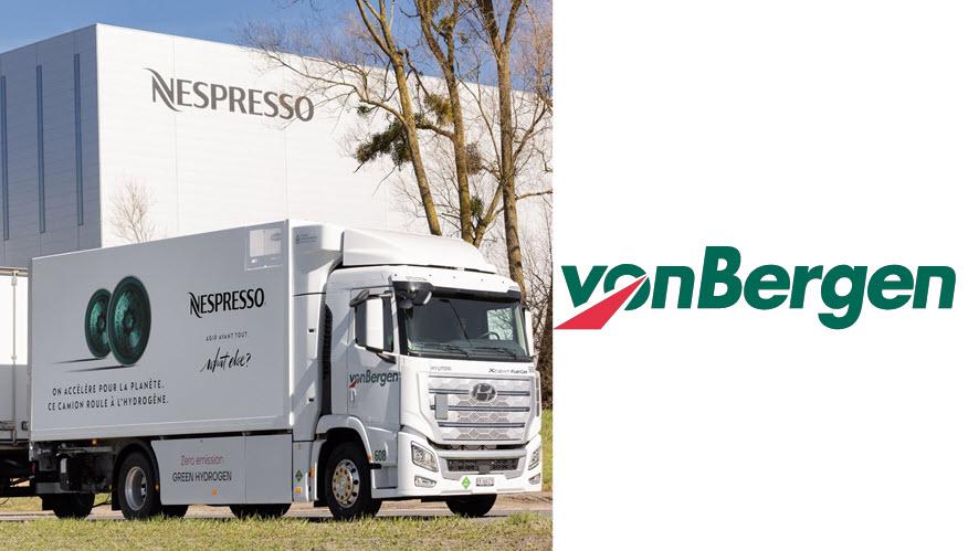 Nespresso Hydrogen Truck