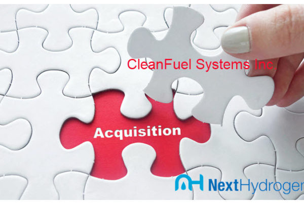 Next Hydrogen Acquisition