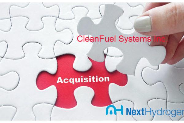 Next Hydrogen Acquisition