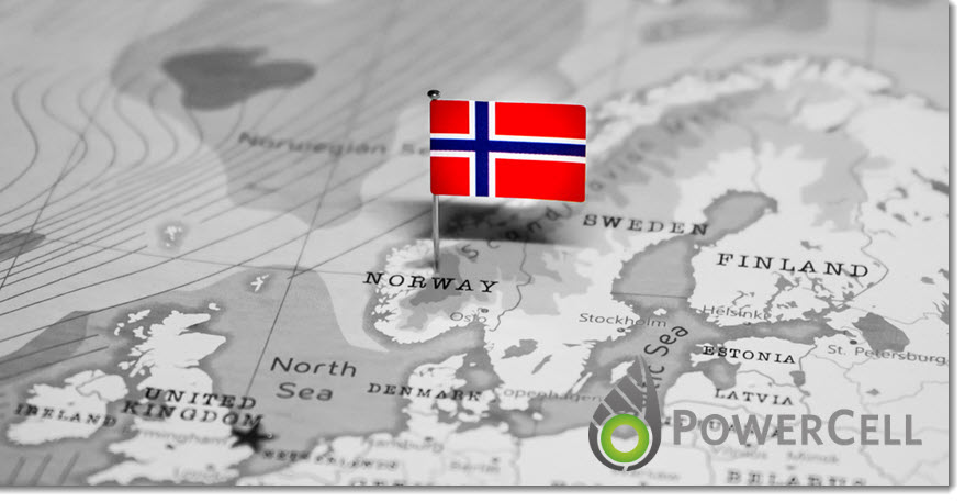 Fuel cells works, hydrogen, Powercell, norway, fuel cells