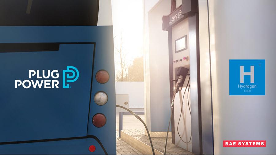 Plug Power BAE Hydrogen
