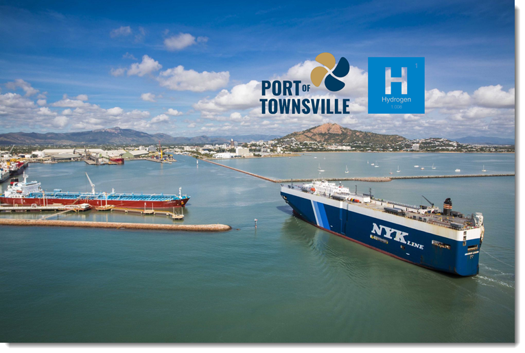 Fuel cells works, Australia: Green Hydrogen Project Signs MOU with Port of Townsville