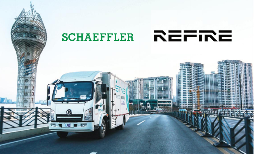 Fuel cells works, Schaeffler and REFIRE to Manufacture Key Components for Hydrogen Fuel Cells