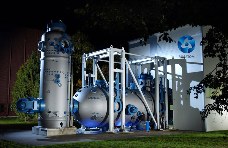 Rosatom and TMH Create a JV to Develop Hydrogen Transport