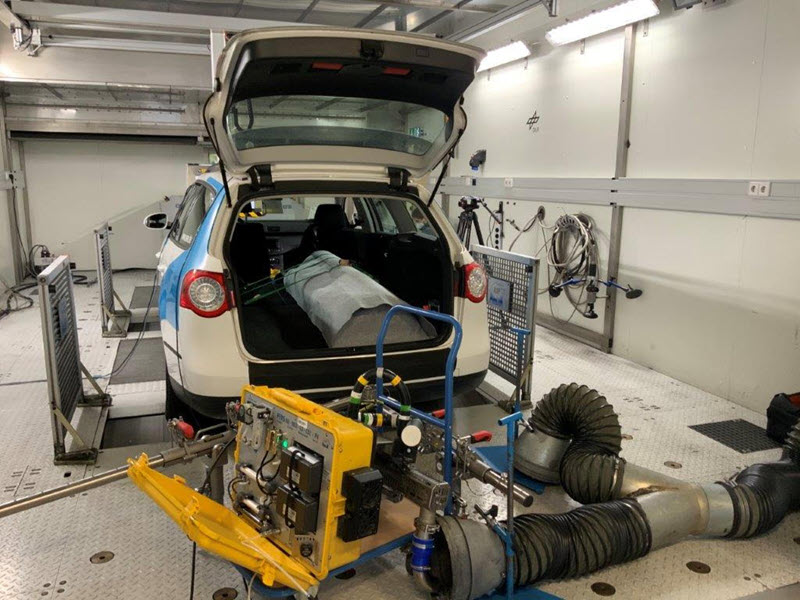 SWE Testing Hydrogen Engine