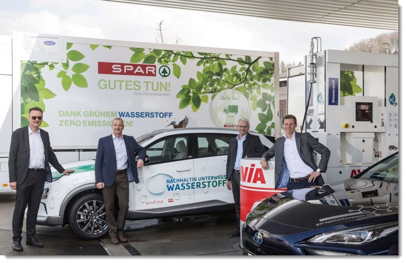 Schatzle Opens the First Avia Hydrogen Filling Station in Central Switzerland