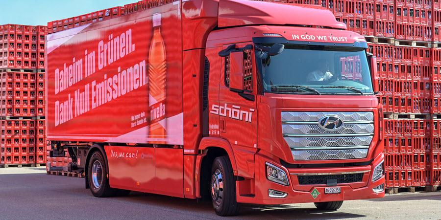 Fuel cells works, hydrogen, Schöni Transport AG, fuel cells