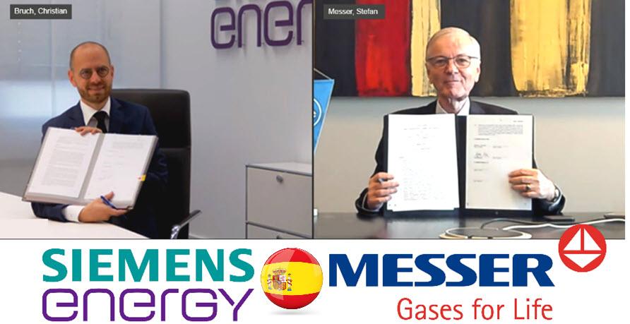 Siemens Messer Hydrogen in Spain
