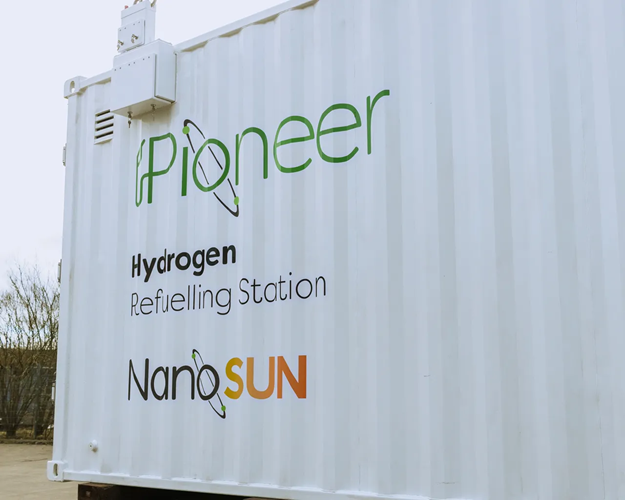 fuel cells works, NanoSUN Pioneer Hydrogen Refuelling Station Ready for Deployment