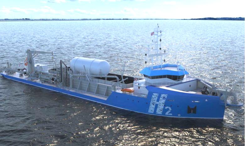 Fuel cells works, Dutch Shipbuilder Royal IHC Makes Progress on its Hydrogen-Fueled Dredger