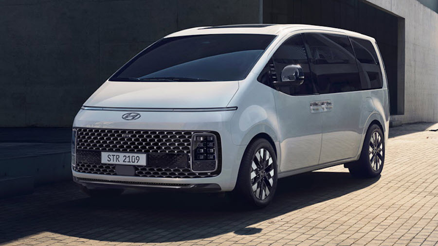 Staria Hyundai Van May Come with a Fuel Cell