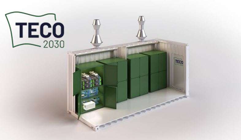 TECO 2030 Launches Fuel Cell Container 2