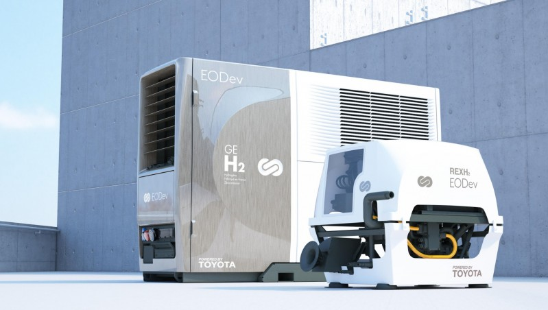 Fuel cells works, Toyota Motor Europe Invests in EODev to Further Expand Zero Emission Hydrogen Solutions