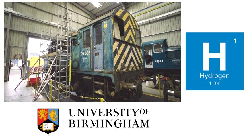 UKs Hydroshunter First Diesel Locomotive to Run on Hydrogen