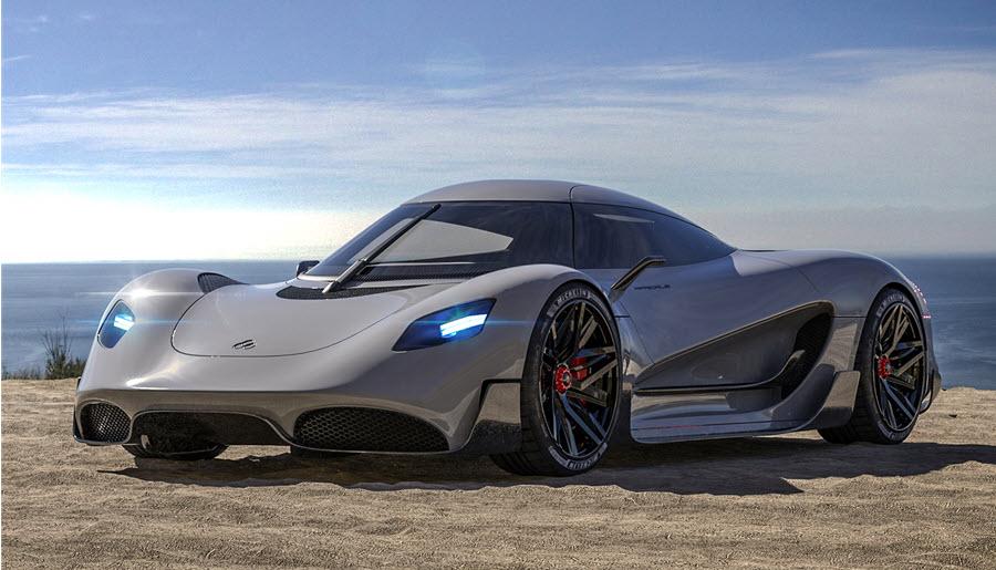 Viritechs Apricale%E2%84%A2 Hydrogen Hypercar to be Developed at MIRA Technology Park