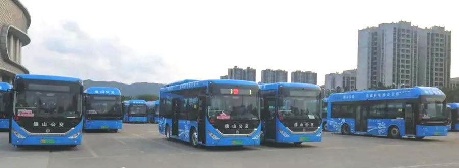 Visions 20 Hydrogen Buses Are Officially Put Into Operation