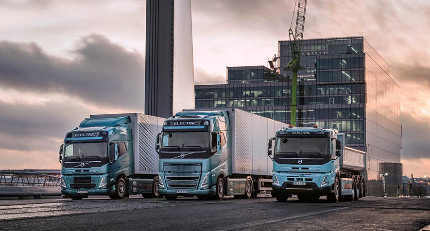 Volvo EV and Fuel Cell Trucks