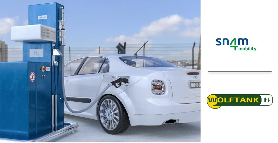 Fuel cells works, ITALY: Wolftank and Snam Launch Collaboration for Hydrogen Vehicle Refueling Stations