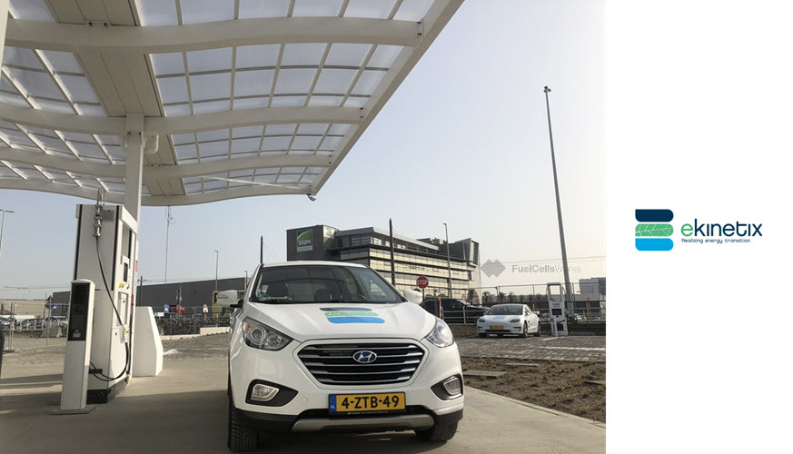 World First Hydrogen Distribution Station in the Port of Antwerp Functionally Operational