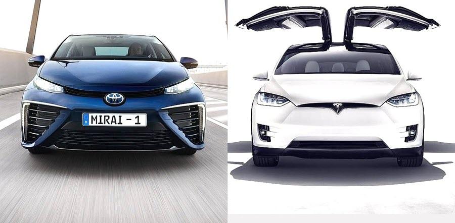 electric vs hydrogen cars