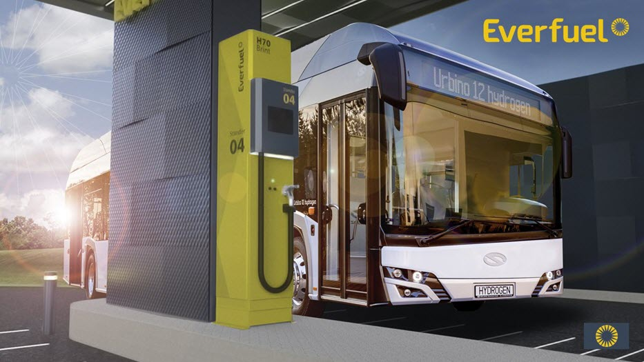 everfuel launches plan for swedish hydrogen fueling network