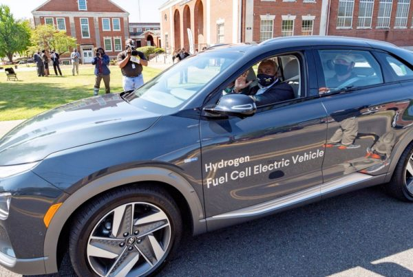hyundai motor manufacturing alabama loans a nexo hydrogen fuel cell vehicle to alabama state university