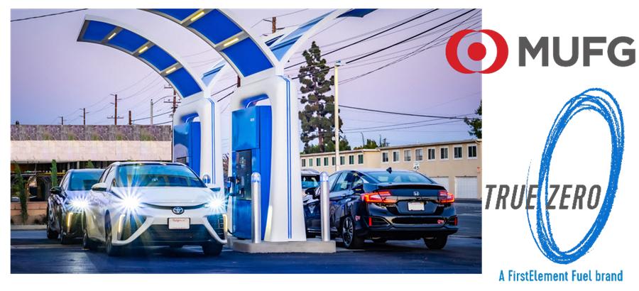 Fuel cells works, hydrogen, MUFG, Bank, fuel cells