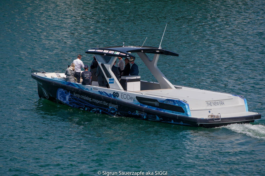 """fuel cells works, France: """"The New Era"""" the World's First Hydrogen-Powered Pleasure Craft Presented in Marseille"""