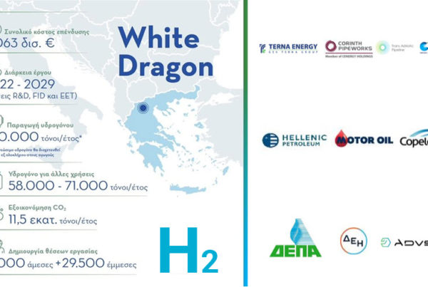 8 Billion Euro Greek Hydrogen Plan White Dragon Set for Take Off