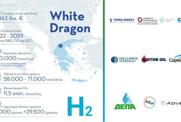 8 Billion Euro Greek Hydrogen Plan White Dragon Set for Take Off