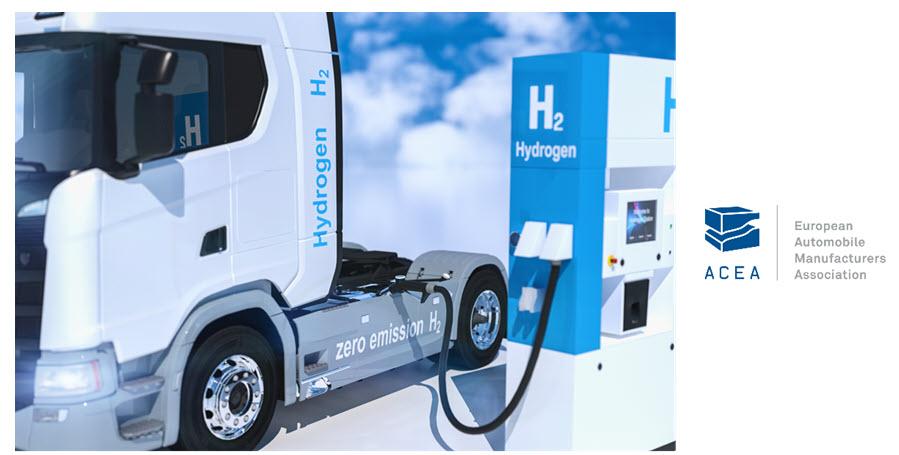 Fuel cells works, hydrogen, ACEA, fuel cells