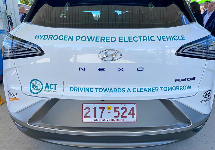 Fuel cells works, hydrogen, ACT, Zero Emissions, vehicle, fuel cell