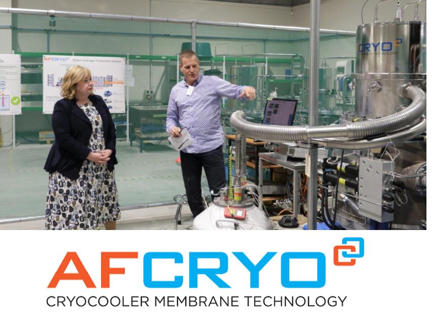 Fuel cells works, hydrogen, AFCryo, green hydrogen