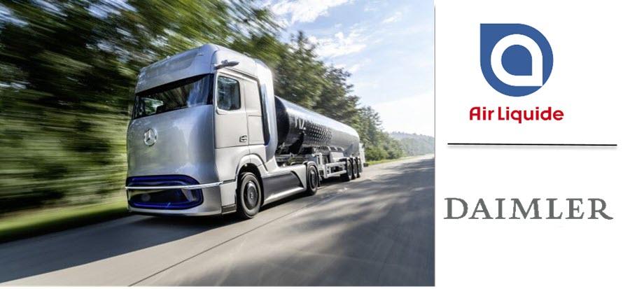 fuel cells works, air liquide, daimler truck, hydrogen, fuel cells