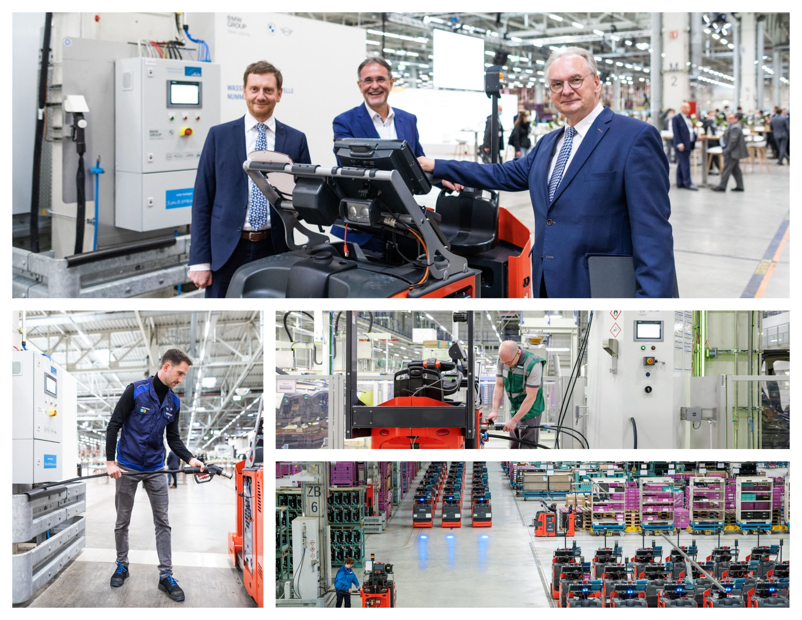 Fuel cells works, hydrogen, BMW Group Plant Leipzig Opens Fourth On-Site Hydrogen Station