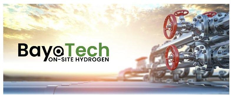 Fuel cells works, hydrogen, BayoTech, occams, gas, canada, fuel cells